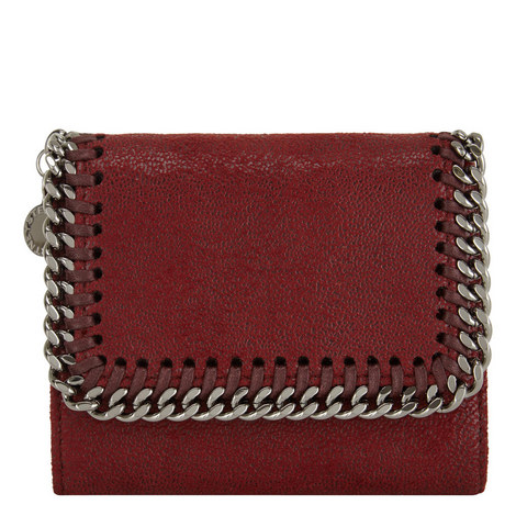 Falabella Flap Wallet Small, ${color}