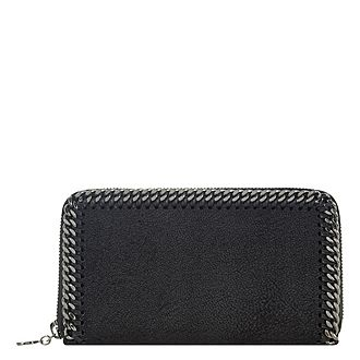 Falabella Chamois Zip Around Wallet