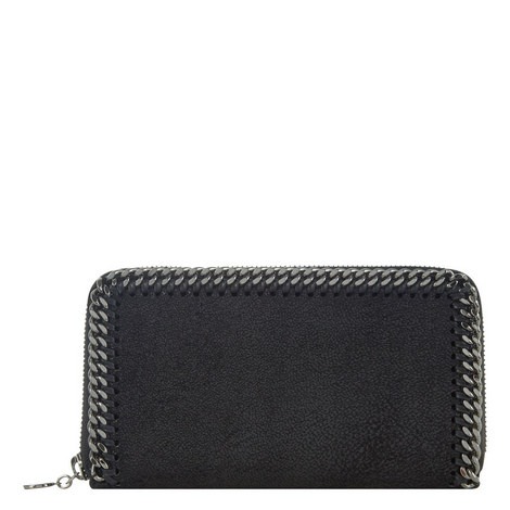 Falabella Chamois Zip Around Wallet, ${color}