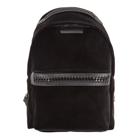 Falabella Shaggy Deer Velvet Backpack, ${color}