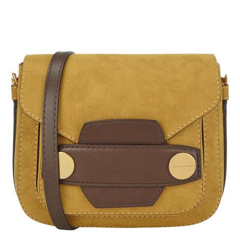 Alter Suede Saddle Bag, ${color}