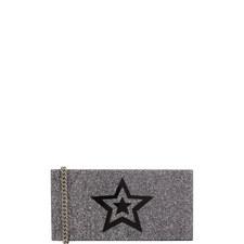 Glitter Star Box Clutch Bag