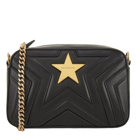 Quilted Star Shoulder Bag Mini, ${color}