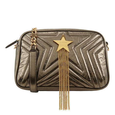 Quilted Star Shoulder Bag Mini, ${color}