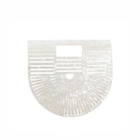 Ark Acrylic Mini Clutch Bag, ${color}