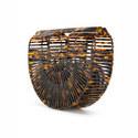 Ark Acrylic Clutch Bag Small, ${color}