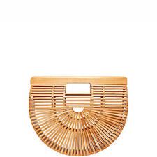 Ark Bamboo Clutch Bag Small