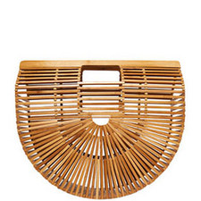 Ark Bamboo Clutch Bag Large