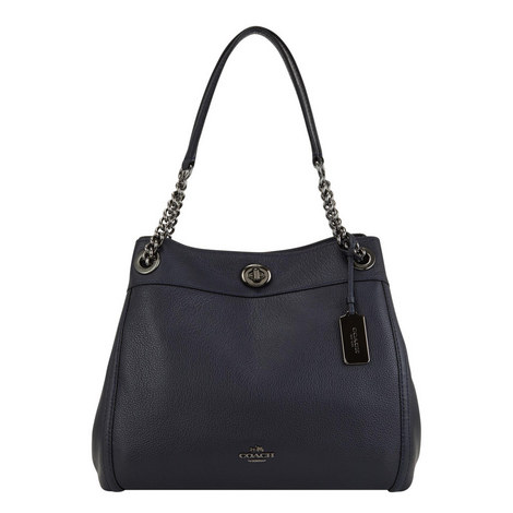 Edie Turnlock Shoulder Bag, ${color}