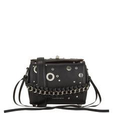 Eyelet Box Crossbody Bag