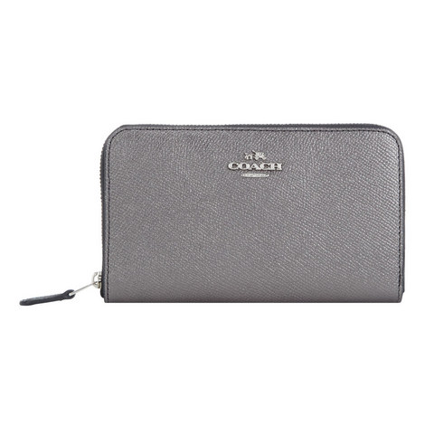 Zip Around Wallet Medium, ${color}