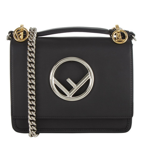 KAN I Logo Chain Bag, ${color}
