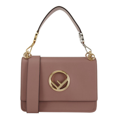 KAN I Logo Shoulder Bag, ${color}