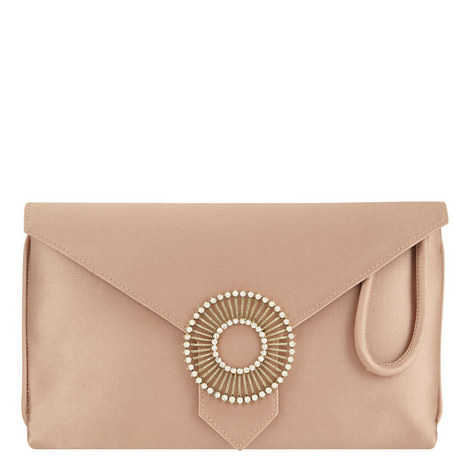 Edith Silk Clutch, ${color}