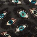 Eye Appliqué Clutch, ${color}
