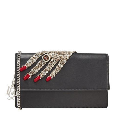 Jewel Embellished Hand Clutch, ${color}