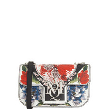 Insignia Floral Print Satchel Small