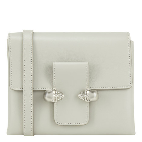 Twin Skull Crossbody, ${color}
