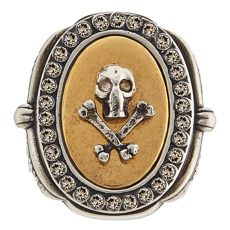 Skull And Ribbon Ring, ${color}
