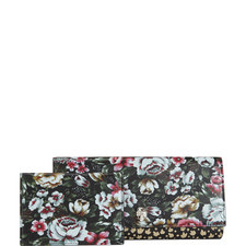 Floral Travel Wallet