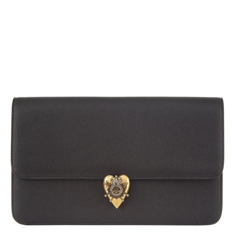 Heart Envelope Clutch Bag, ${color}