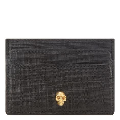 Leather Skull Cardholder, ${color}