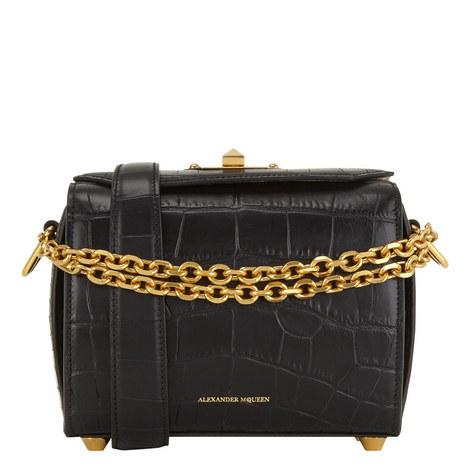 Croco Box Crossbody Bag Medium, ${color}