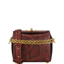 Python Box Crossbody Bag Medium