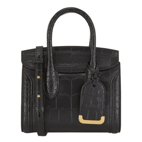 Heroine Croc Bag Mini, ${color}
