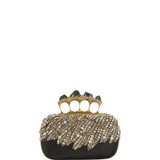 Bead and Pyrite Encrusted Clutch