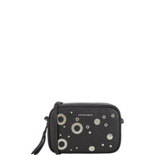 Eyelet Leather Camera Bag