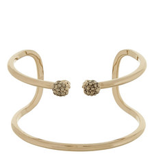Double Skull Cuff Bracelet