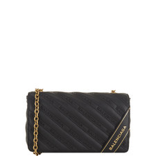 Blanket Leather Chain Wallet