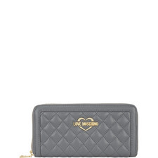 Quilted Zip-Around Wallet Large