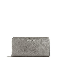 Mirror Logo Zip-Around Wallet