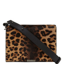 Leopard Print Shoulder Bag Mini