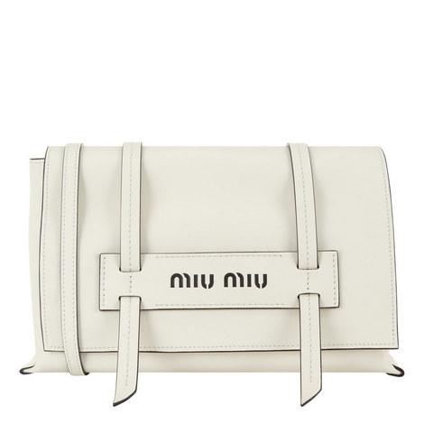 358fdb0e1eae MIU MIU Grace Lux Leather Shoulder Bag Small