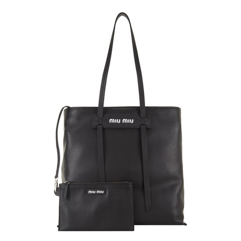Grace Lux Leather Tote, ${color}