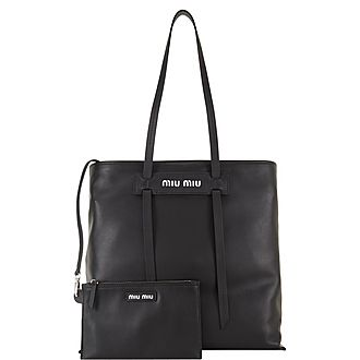 Grace Lux Leather Tote