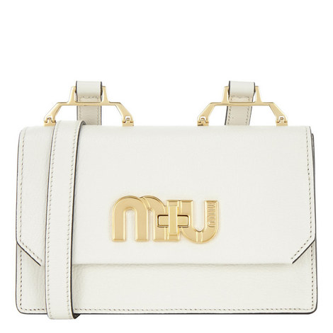 Madres Logo Crossbody Bag Small, ${color}