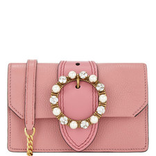 Jewel Circle Flap Bag Small