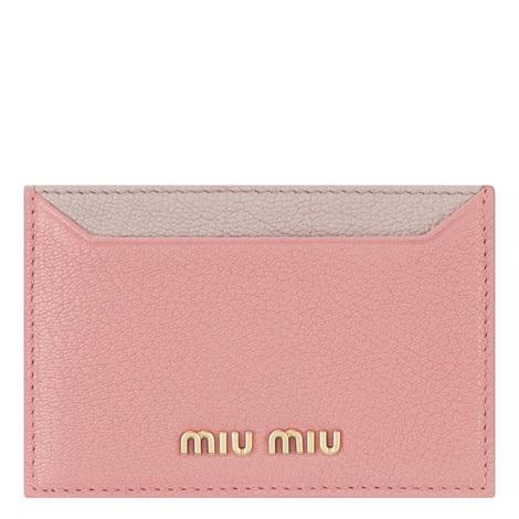 Two-Tone Leather Cardholder, ${color}