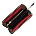 Zip Around Leather Wallet, ${color}