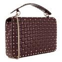 Rockstud Spike Shoulder Bag Large, ${color}