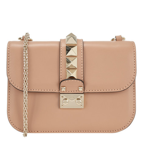Rockstud Shoulder Bag Small, ${color}