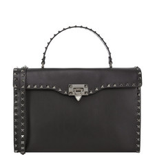 Rockstud Top Handle Bag Medium
