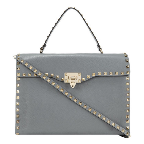 Rockstud Shoulder Bag Medium, ${color}