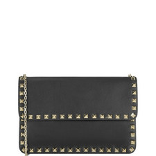 Rockstud Flap Chain Bag