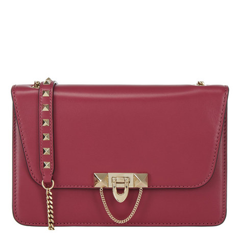 Demilune Shoulder Bag Small, ${color}