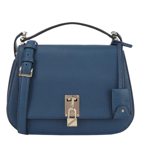 Piper Grained Leather Saddle Bag, ${color}